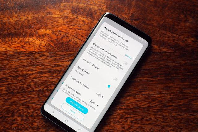 Begini Cara Memperbaiki Basalah baterai Galaxy S9 7