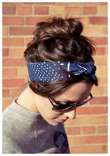 Peinado con bandana