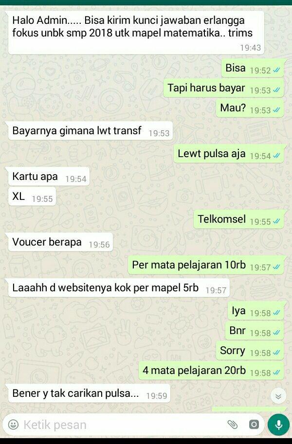 Jawaban Ukbm Bahasa Indonesia 10