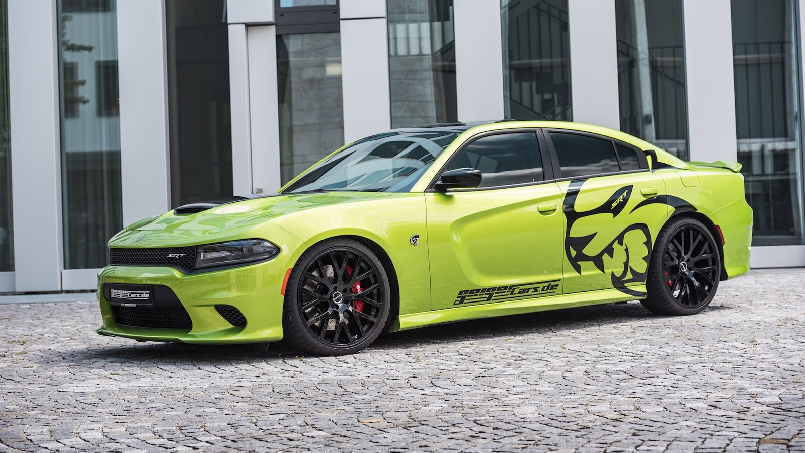 geigercars modifies roaring charger srt hellcat up to 782 hp. Black Bedroom Furniture Sets. Home Design Ideas