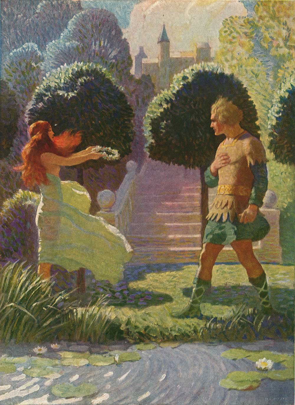 NC Wyeth charlemagne