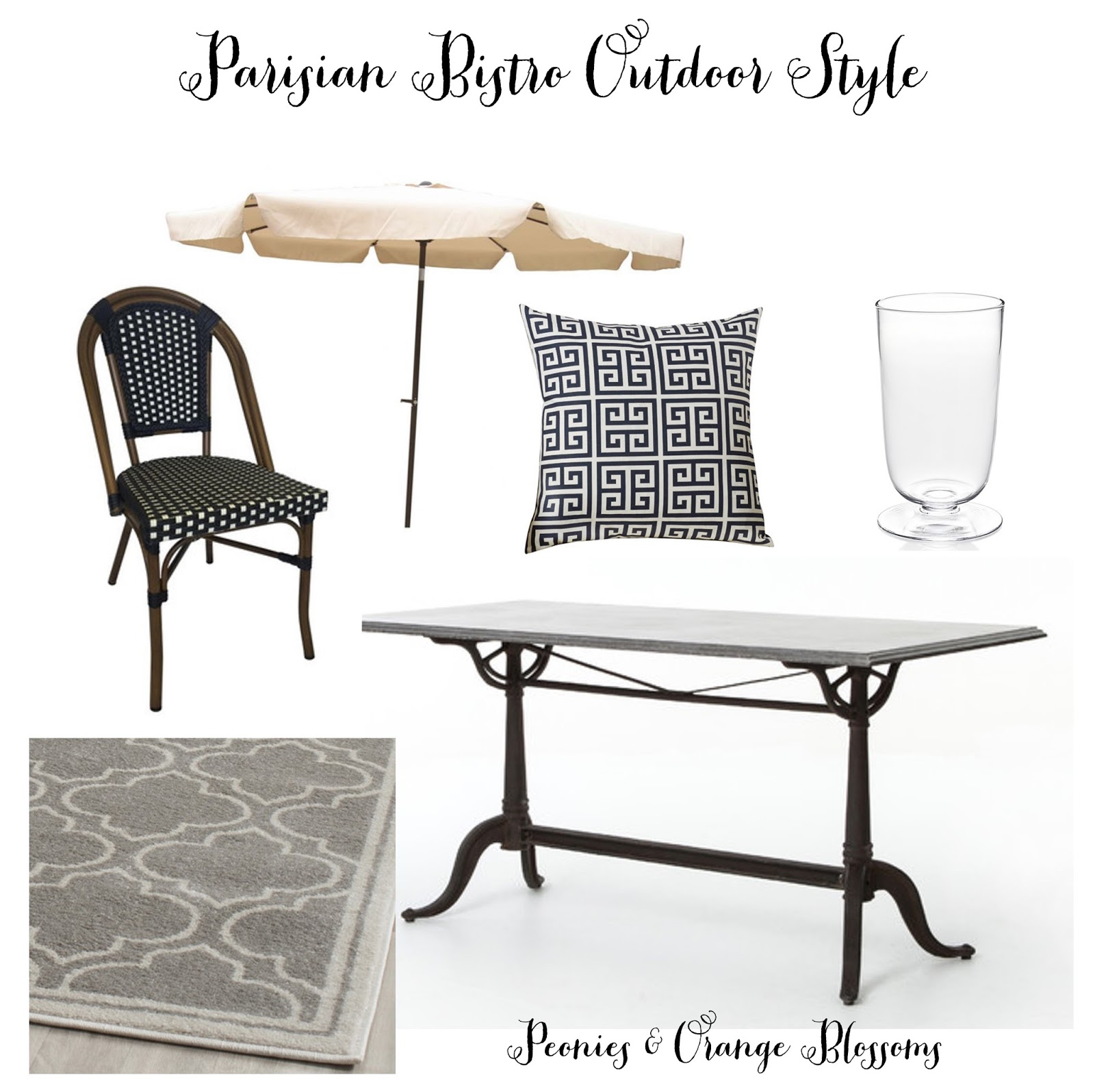 outdoor french bistro style for less petite haus