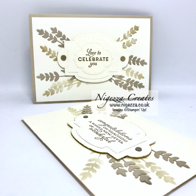Nigezza Creates with Stampin' Up! Embossing Folders Neutral  Layered Textured Card
