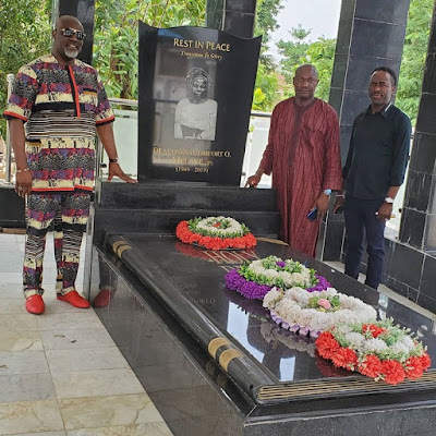 dino melaye mother grave