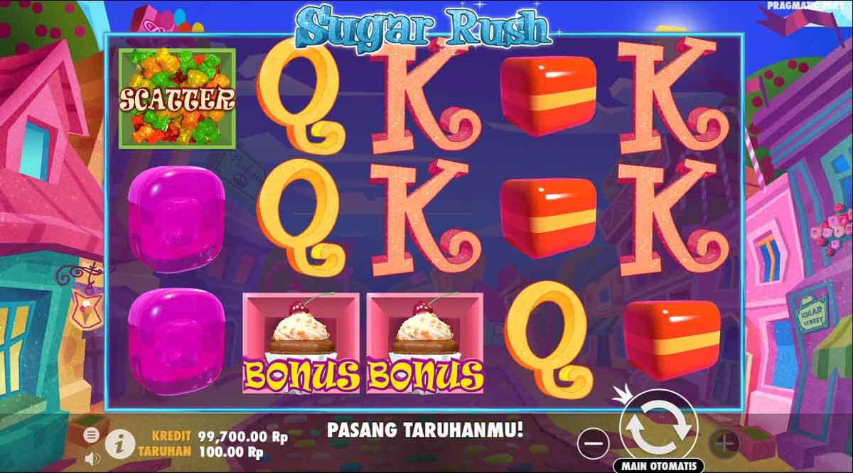 Sugar Rush - Slotpragmatic