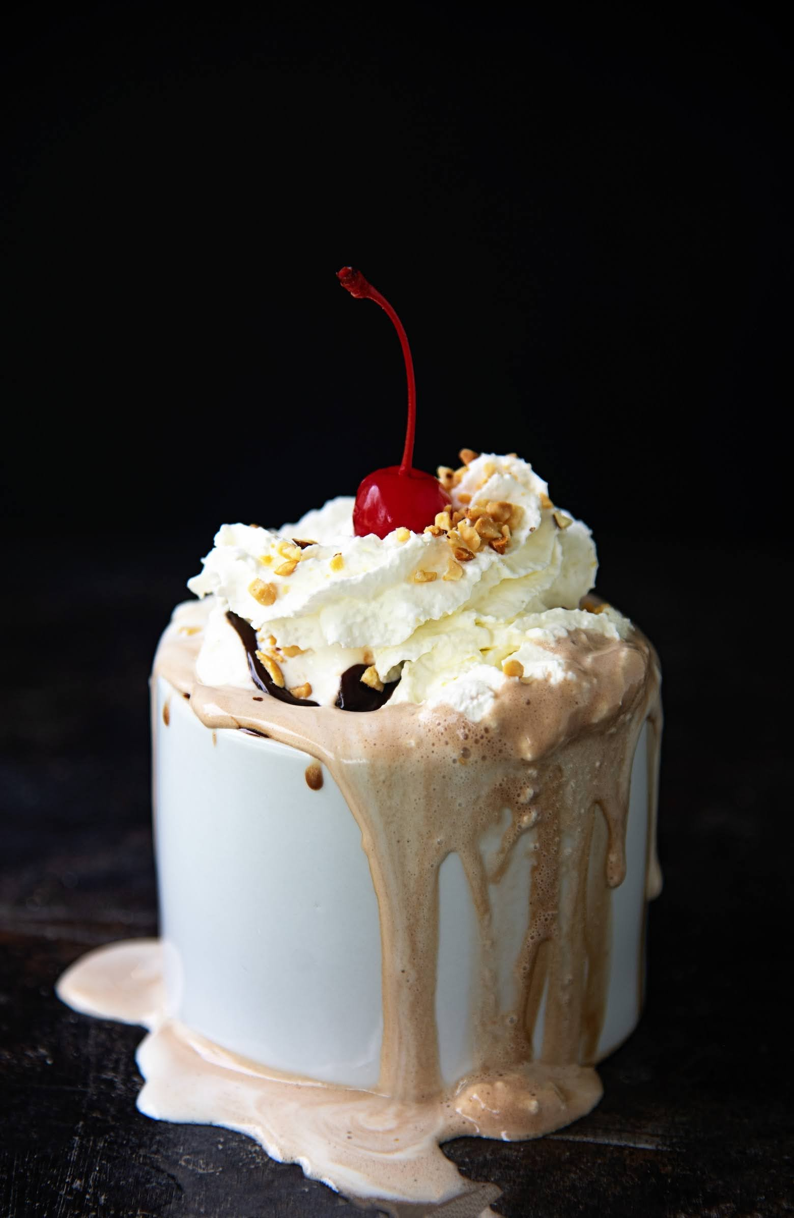 Hot Fudge Sundae Hot Chocolate | Photo Courtesy of Sweet ReciPEAS