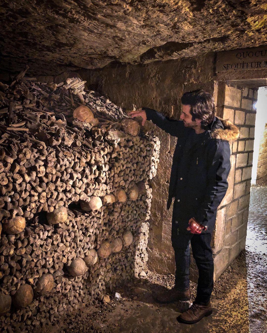 Catacombs Paris Tempat wisata Horror