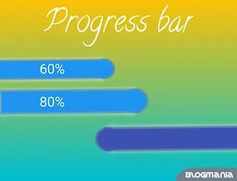 Cara membuat skill bar pada halaman blog