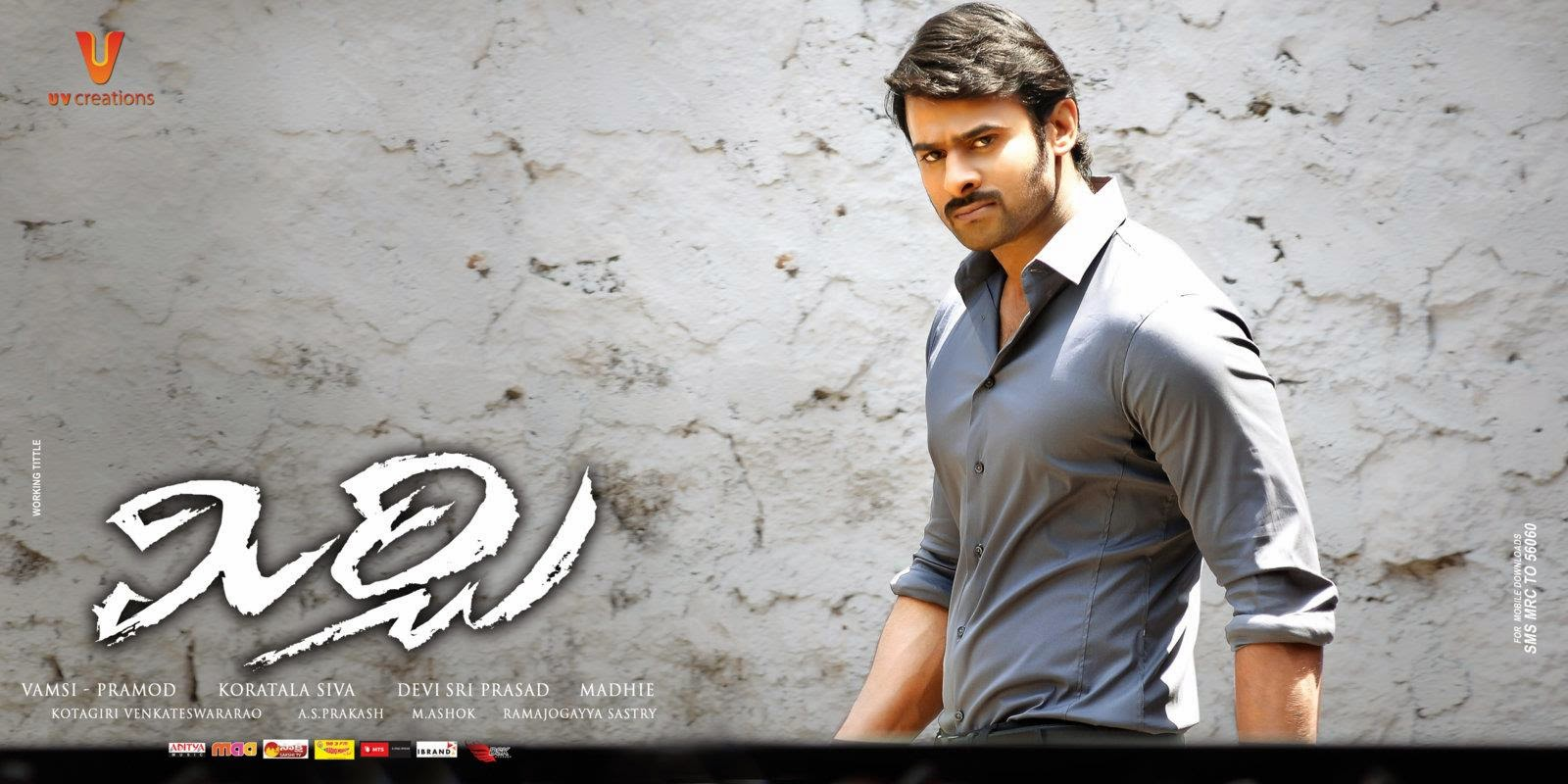 Prabhas Fans Forever: Mirchi New HD Posters Without Watermarks