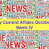 Weekly Current Affairs October 2017: PDF