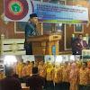 Bupati Kerinci Adirozal Hadiri Pelantikan PPNI Kerinci Sekaligus Buka Seminar Keperawatan