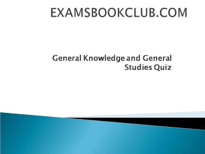 General Knowledge and General Studies Quiz for RRB NTPC  & SSC CHSL, CGL: Set 1.