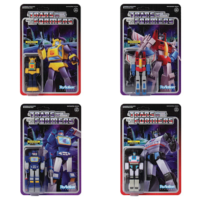 Transformers Generation 1 ReAction Figures Wave 1 by Super7