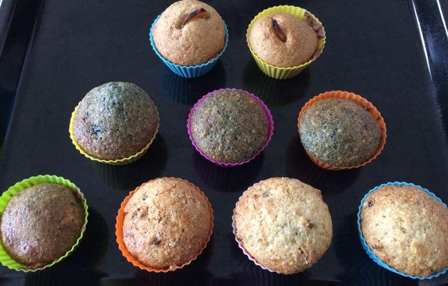 soft muffins