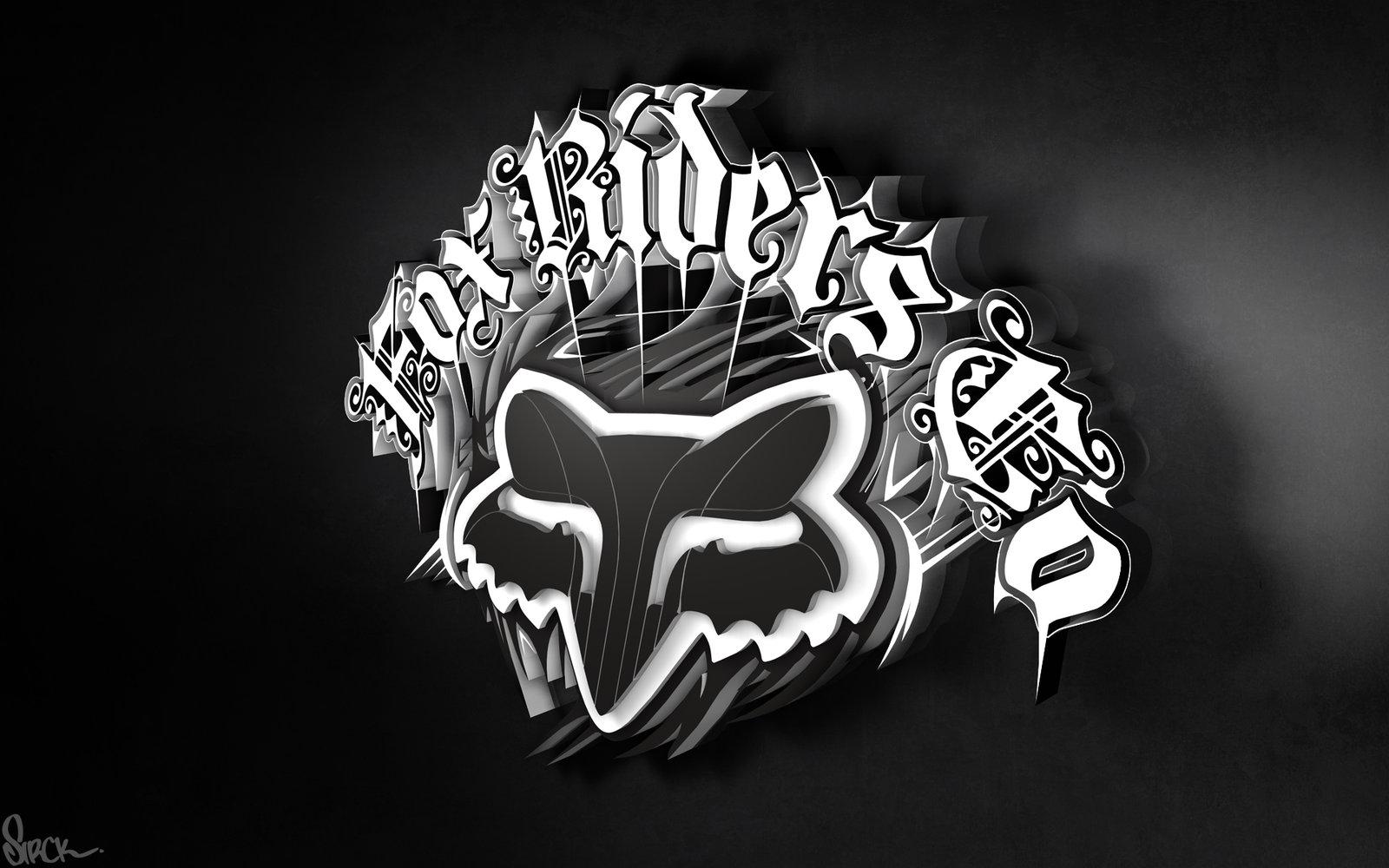 Wallpapers Oakley 3d Crazy Stick Stikers Fox Racing