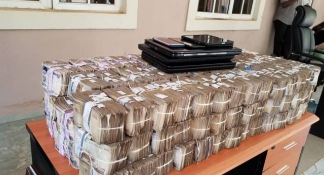 EFCC arrests two Chinese for offering N100m cash bribe to top official + photos