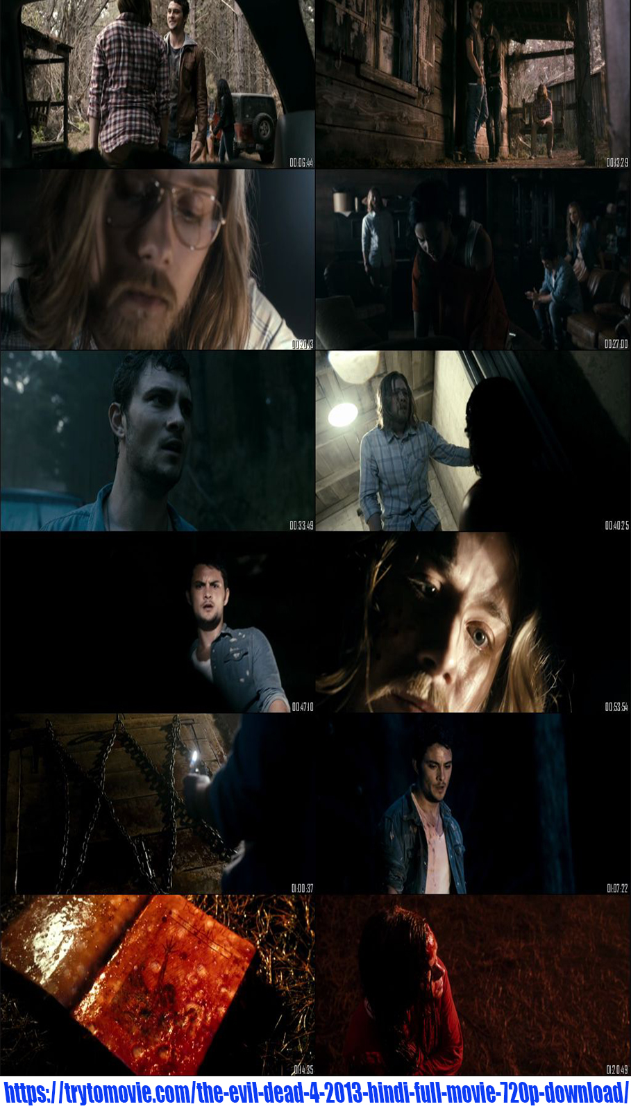 The Evil Dead 4 2013 Hindi Full Movie 720p Download