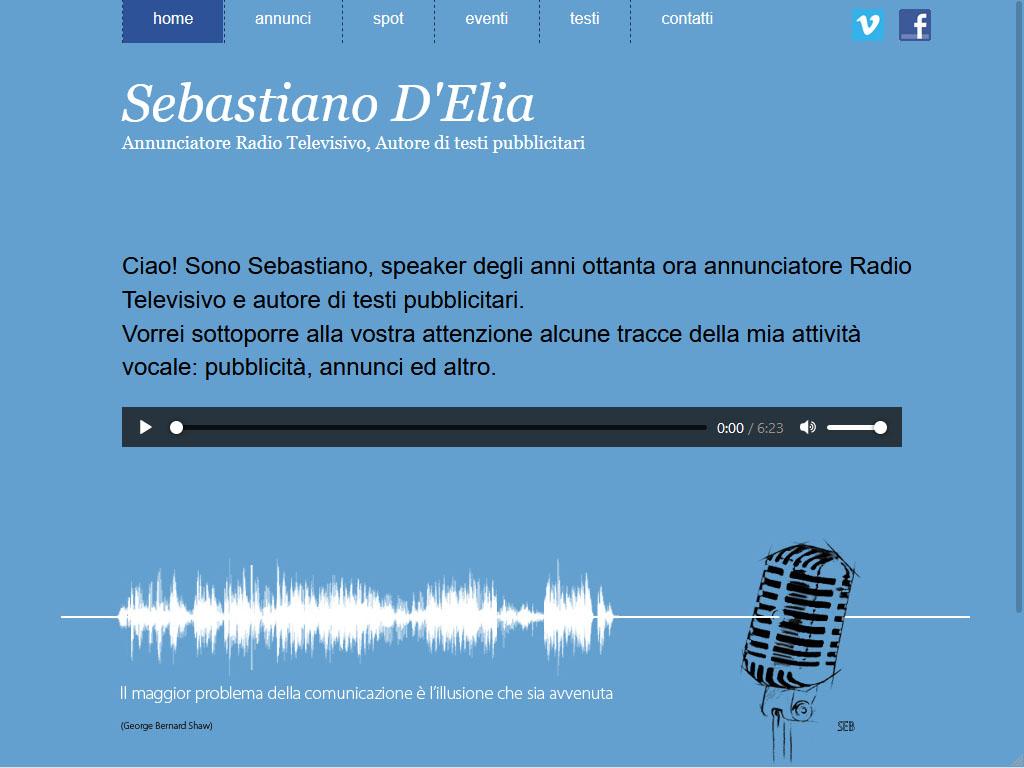 Annunciatore Radio Televisivo - D'Elia
