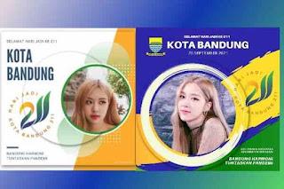 10 Link Twibbon Hari Jadi Kota Bandung Ke 211 Sabtu 25 September 2021 Terbaik di Twibbonize