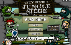 Jugar City Siege 3: Jungle Siege
