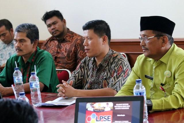 LPSE Kota Pariaman Siap Menuju 17 Standar