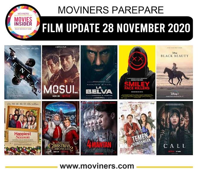 FILM UPDATE 28 NOVEMBER 2020