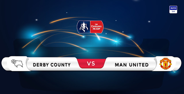 Derby vs Manchester United Prediction & Match Preview