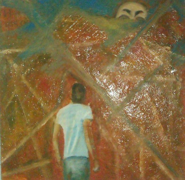 Греческий художник. Chachola Stergiani