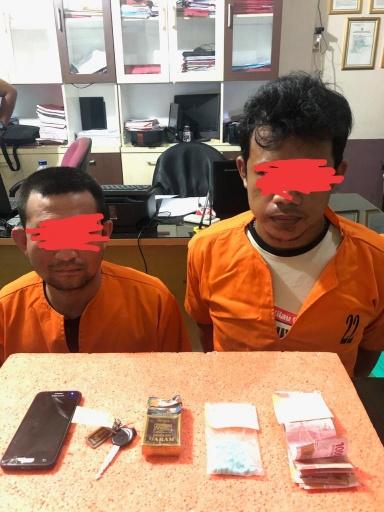 Polres Inhil Tangkap 2 Orang Pelaku Tindak Pidana Narkoba