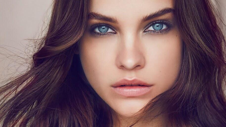 Beautiful, Blue Eyes, Girl, Barbara Palvin, 4K, #6.908