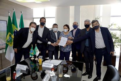 Governo assina acordo com a Codevasf para execução do Projeto Seridó - Salomão Medeiros