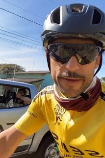 Fred Bersepeda 600 Km Galang Donasi