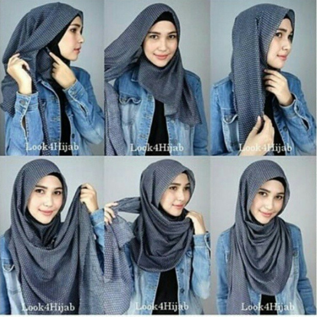 15 Tutorial Hijab Pashmina Terbaru Mudah Simple Modern Tips
