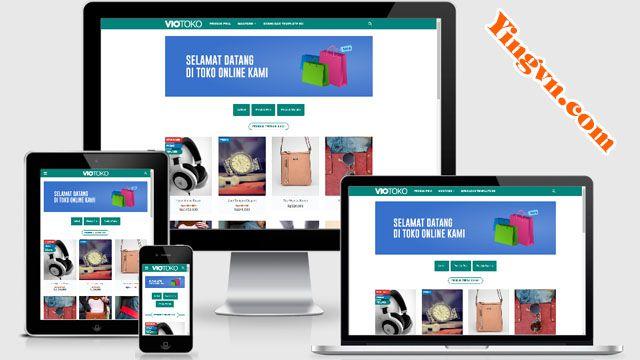 VioToko Template Blogger