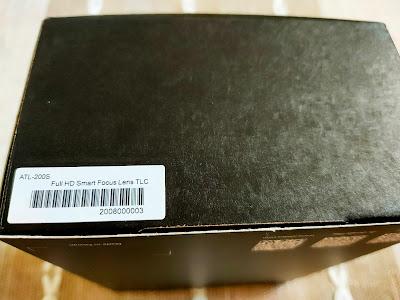 ATL200S縮時攝影機外盒側面有製造的獨一的條碼序號(WiFi連線代碼)