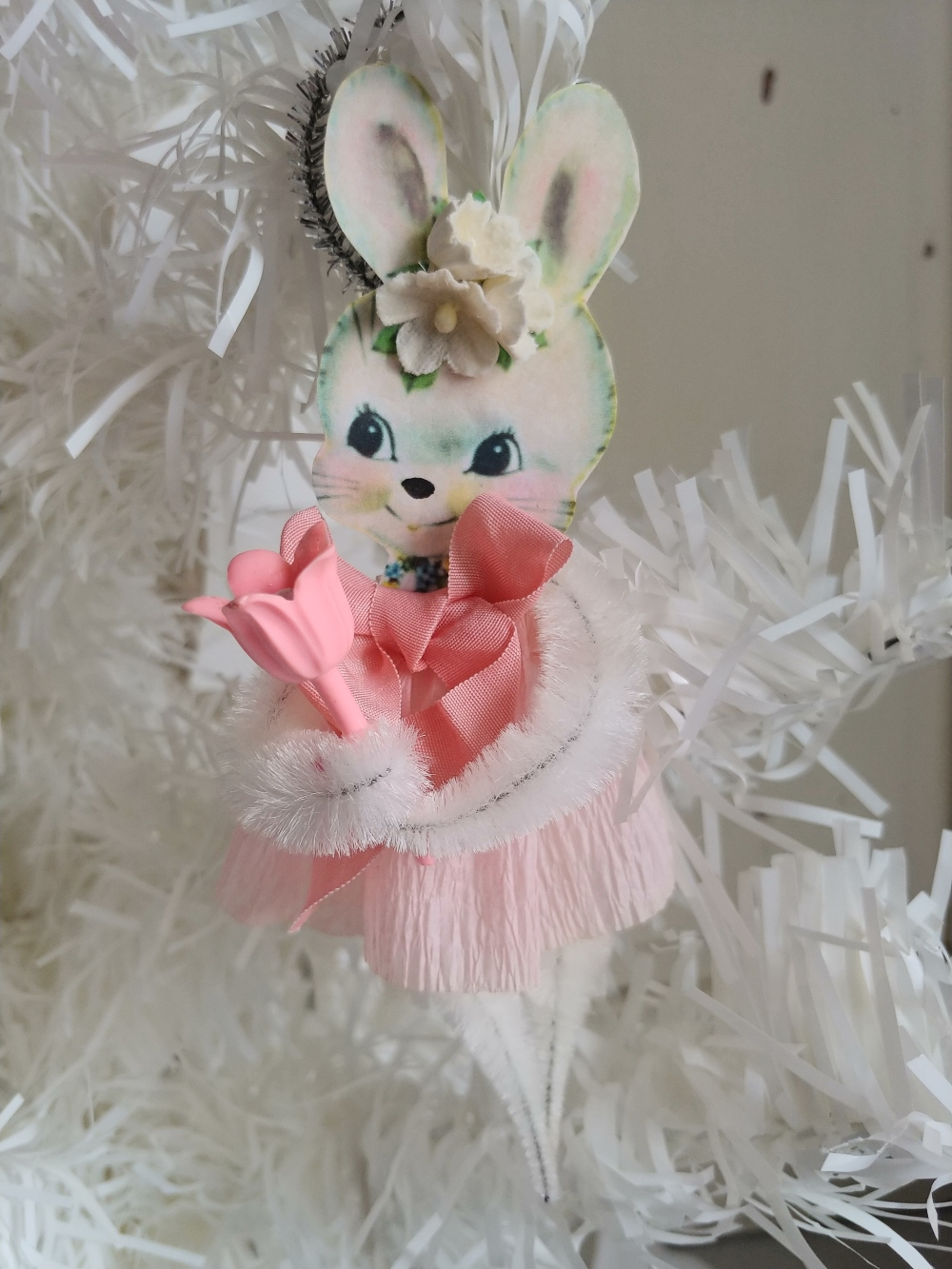 pipe cleaner spring bunny