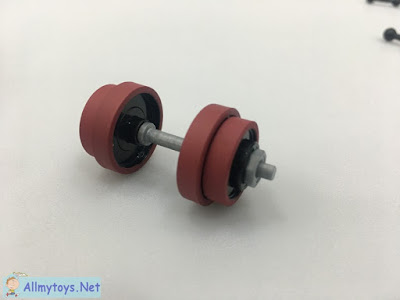 Miniature Toy Gym Barbell 1