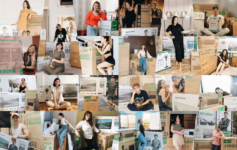 Celebrities and influencers who are enjoying XTREME Appliances at their homes