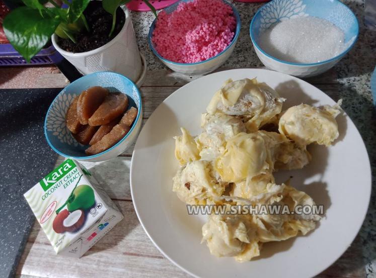 resepi penat durian mudah dan sedap