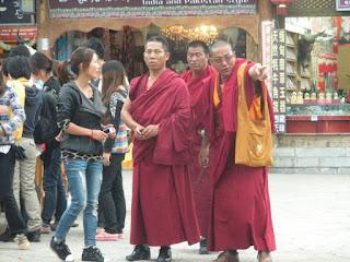 Shangri-la monaci