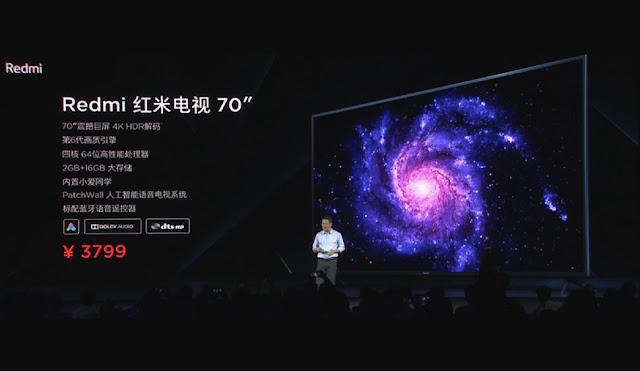 Redmi TV - Nova SmartTV da Xiaomi