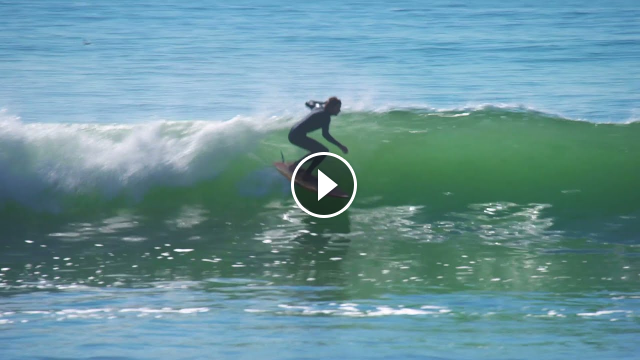 Kookapinto Shapes Fun Board Twins surfing with Jimmy Thompson