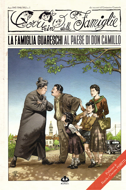 La famiglia Guareschi al paese di Don Camillo