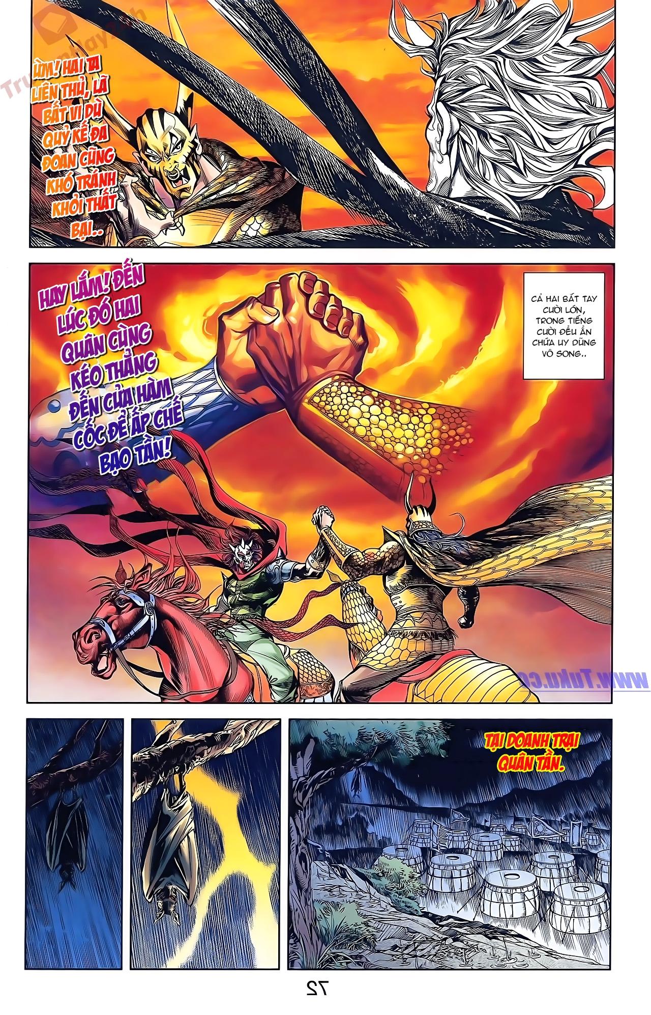 Tần Vương Doanh Chính chapter 47 trang 8