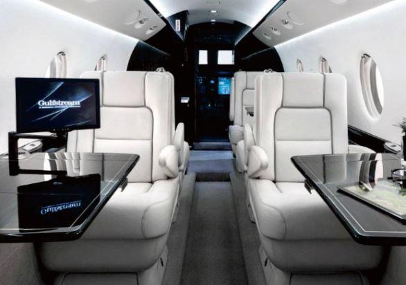 Gulfstream G150 interior