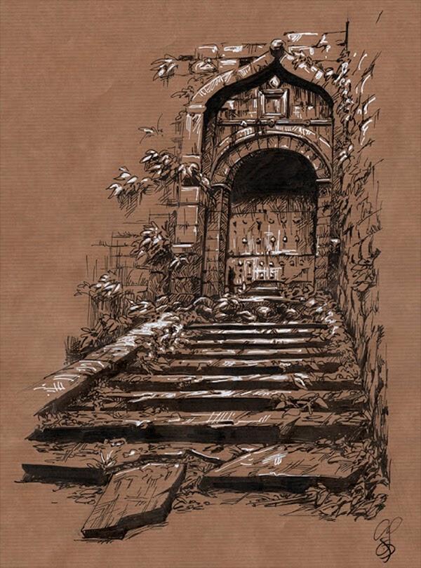 08-Fantasy-filled-castle-Christine-Deschamps-www-designstack-co