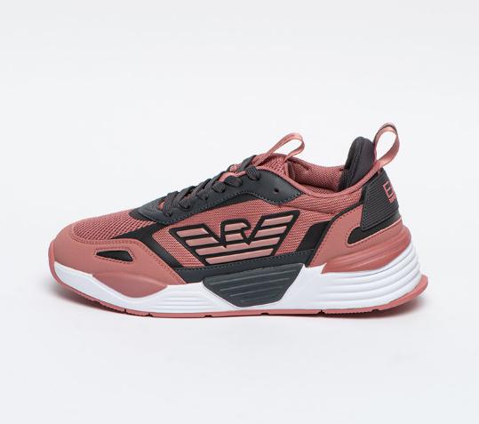 EA7 Pantofi sport cu insertii din material textil