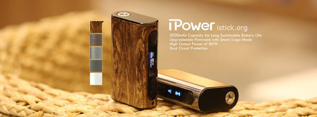 Eleaf iPower mod comes with the latest firmware