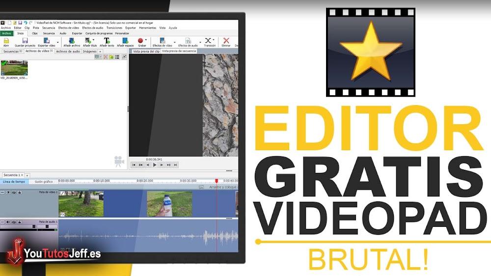Editor de Vídeos Gratuito para PC - Descargar VideoPad Gratis Ultima Versión