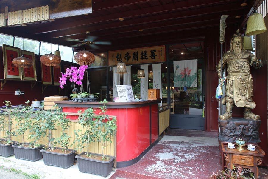 古坑素食餐廳--大樸竹居